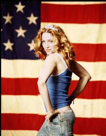 Madonna, en su época de vaquera de 'American pie'.