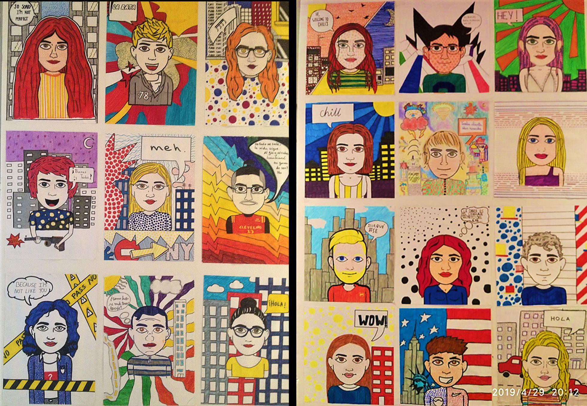 Mural sobre avatares y emojis | IES SAN ISIDORO