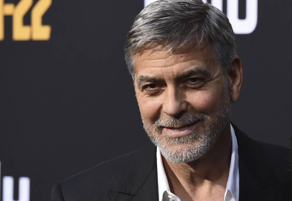 El actor George Clooney.