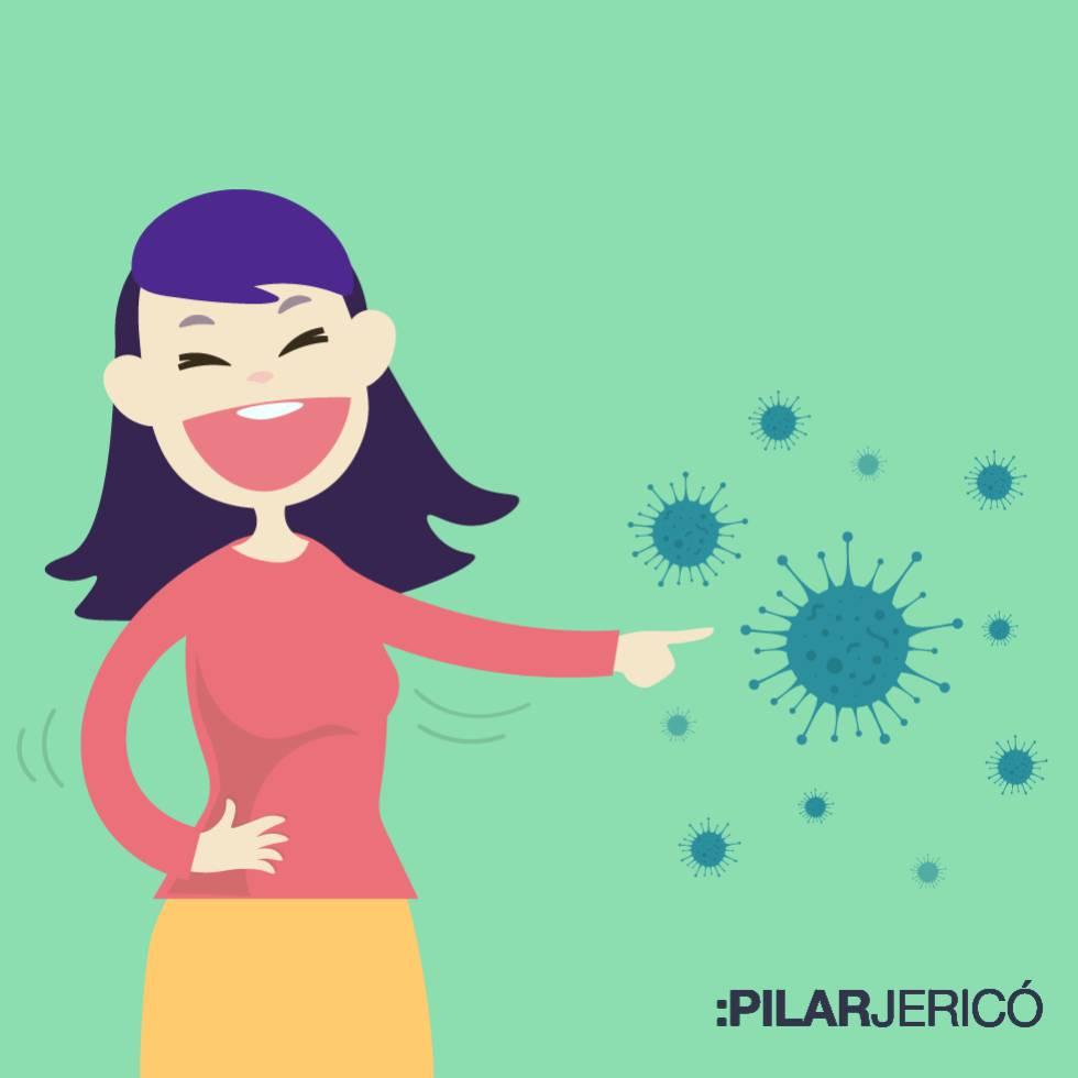 Cosas Chistosas Para Compartir En Whatsapp el humor, una vacuna contra el 'virus' del miedo | blog