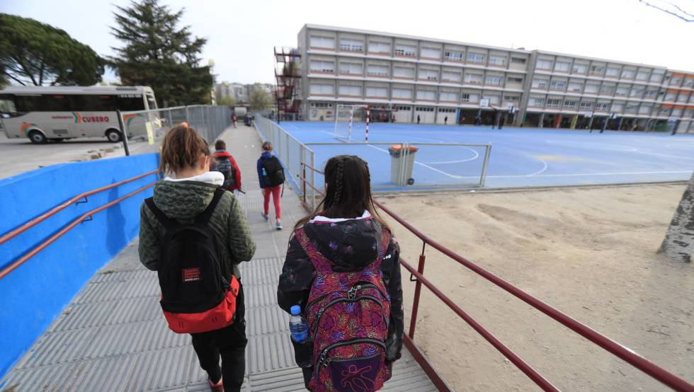 En Madrid, los centros escolares cerrarán durante dos semanas a partir del 11 de marzo.
