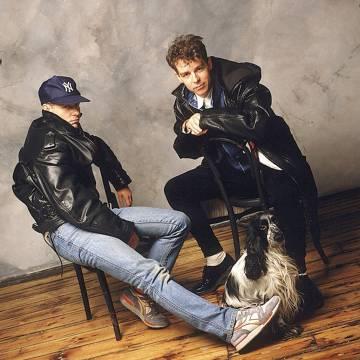El dúo británico, en una imagen de la promoción de su disco 'Actually', en 1987.