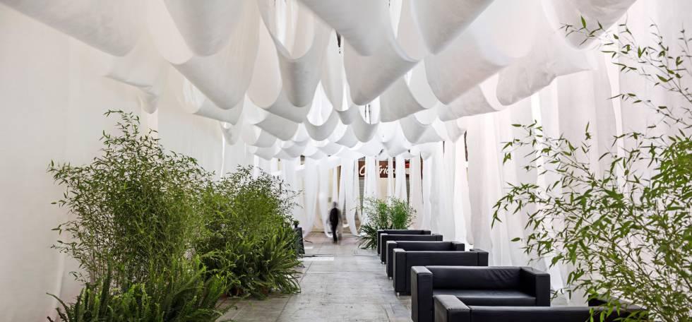 La arquitectura que hay en una sábana