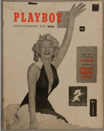 Las fotografías que Marilyn se hizo desnuda antes de ser famosa se publicaron en el primer número de la revista 'Playboy'.