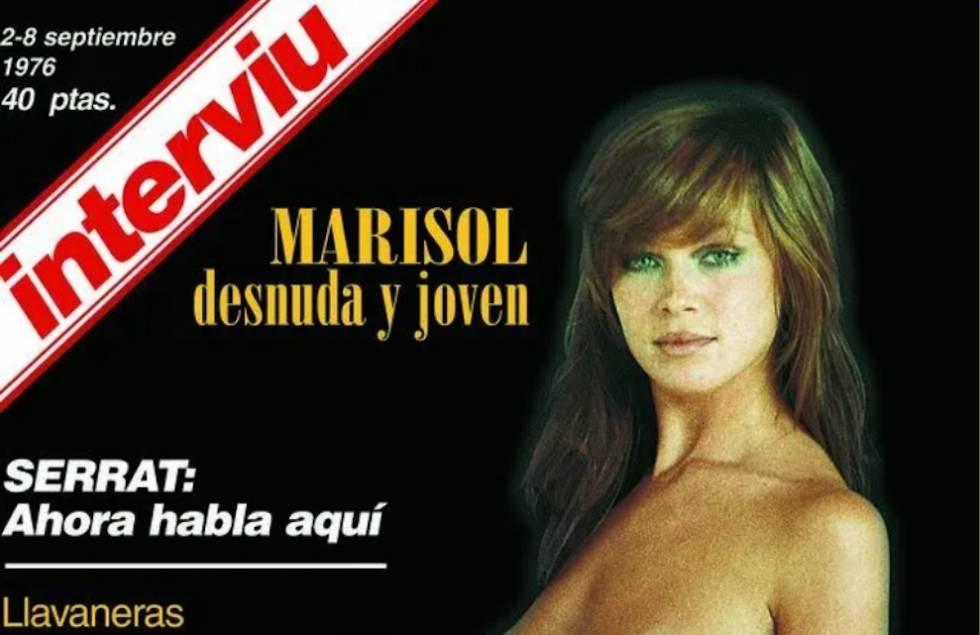 En 1972, el desnudo de Marisol protagonizó la portada del primer número de 'Interviú'.