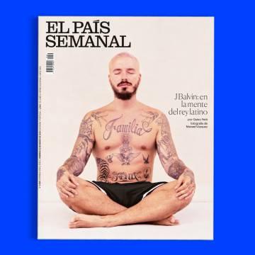 Este domingo, J Balvin en portada de 'El País Semanal'