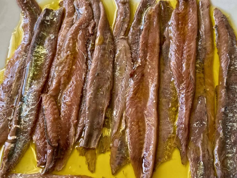 ¿Cómo están más ricas las anchoas?