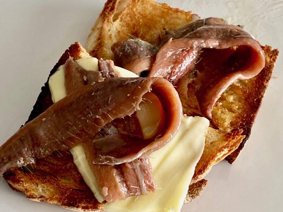 Deliciosas con pan tostado y mantequilla. J.C.CAPEL