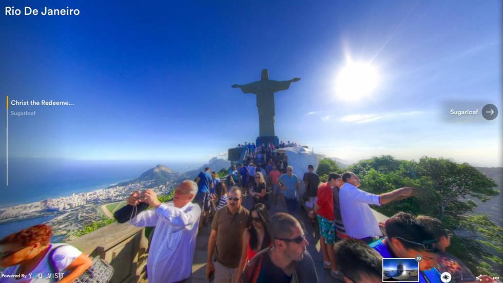 Uno de los litorales más bellos de Sudamérica a vista de pájaro gracias al tour virtual.