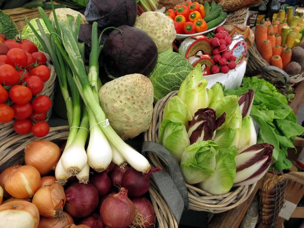 Las dietas saludables consisten principalmente en una diversidad de alimentos de origen vegetal