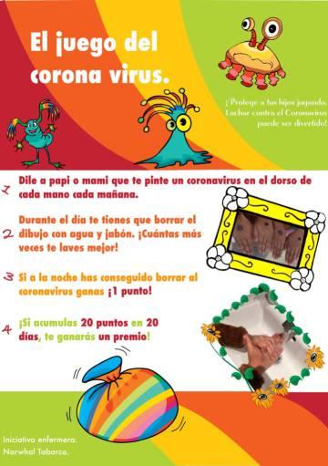 El 'juego del coronavirus'.