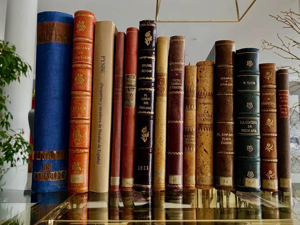Algunos libros del siglo XX en los que se documenta el bacalao al pilpil. J.C.CAPEL