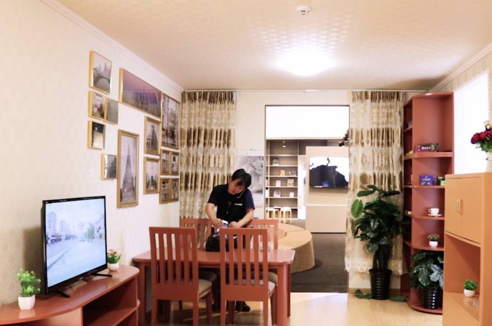 interior casa corea del norte