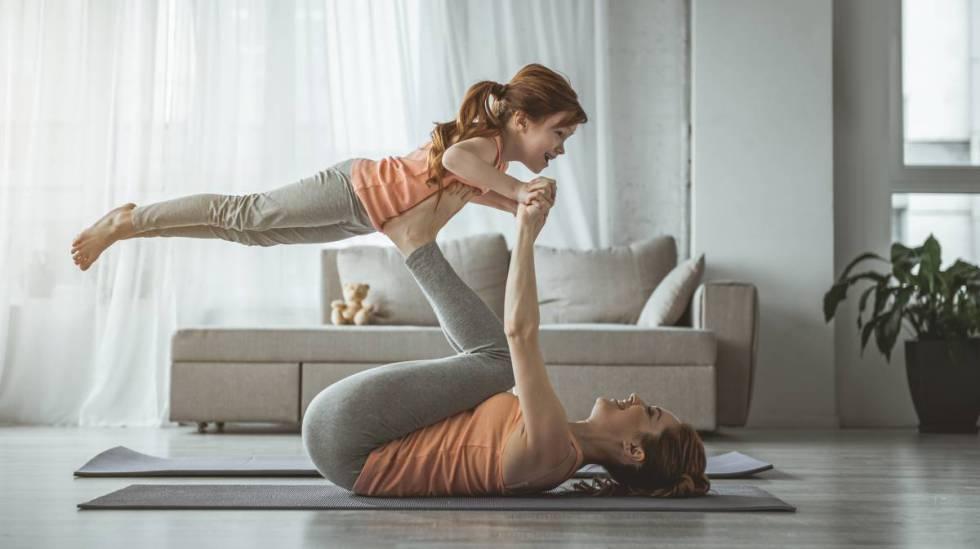 """Mantener a los niños activos durante la cuarentena: """"Es clave que ..."""