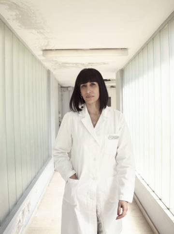 La doctora Adele Teodoro.