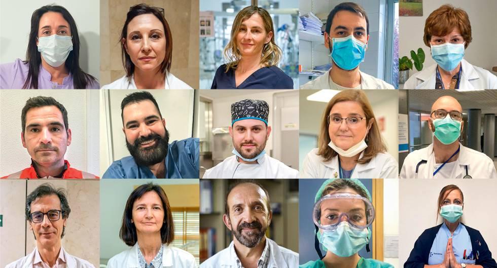 Héroes del coronavirus: la batalla continúa diez días después