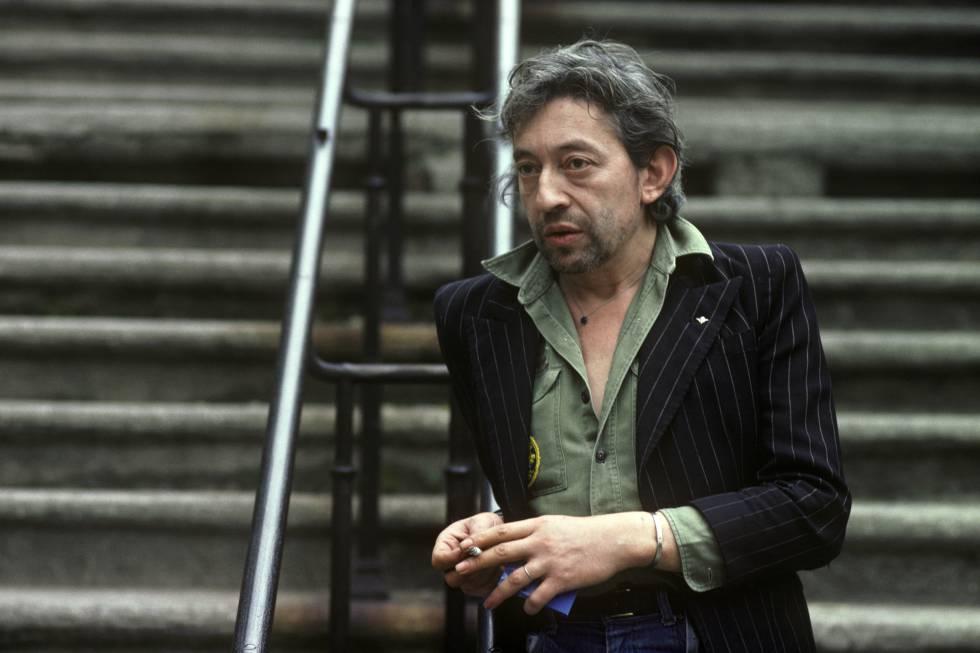 Serge Gainsbourg haciendo de Serge Gainsbourg. Ni se le ocurra intentar imitarlo.