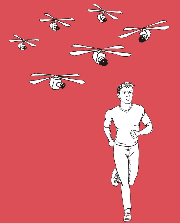 Cada día es más complicado distinguir un dron de una avispa. Ante la duda, huya. Siempre huya.