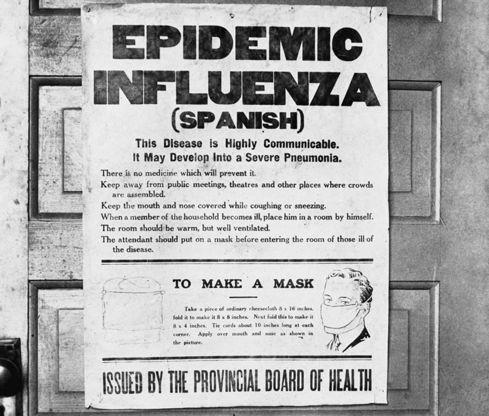 virus de la gripe alrededor de noviembre de 2019