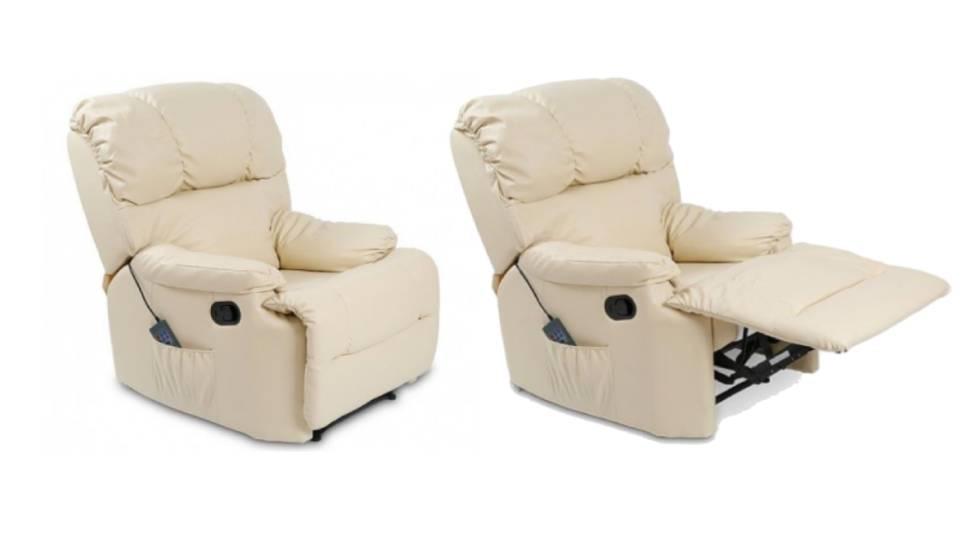 ¿Buscas un sillón de masaje reclinable? Este se puede adquirir en cuatro colores y rebajado al 40%