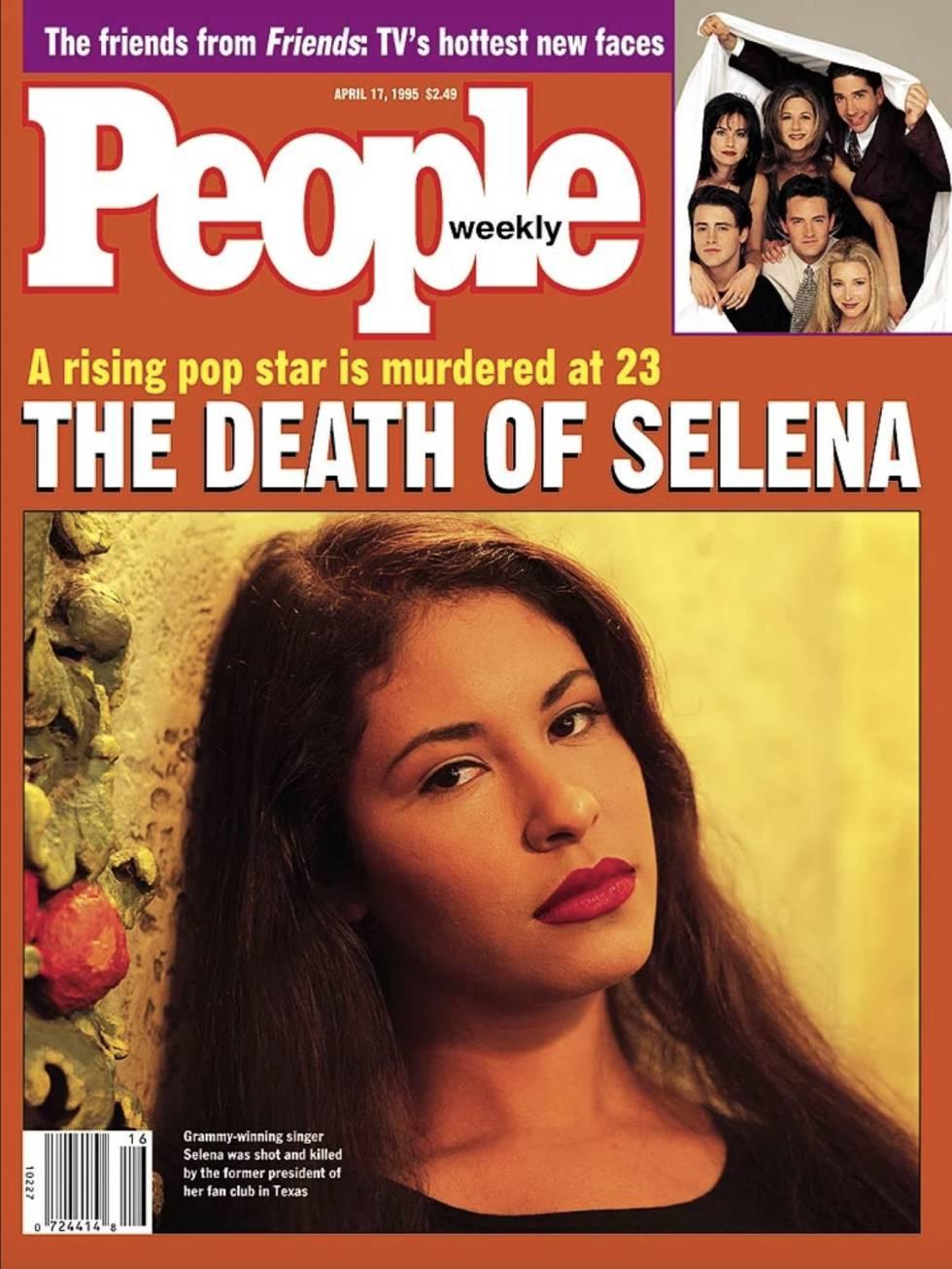 Tras el fallecimiento de Selena Quintanilla, la revista People, uno de los semanarios más influyentes de Estados Unidos, le dedicó su portada y confirmó que su figura había trascendido el mercado latino para convertirse en un icono de la cultura popular de los noventa.