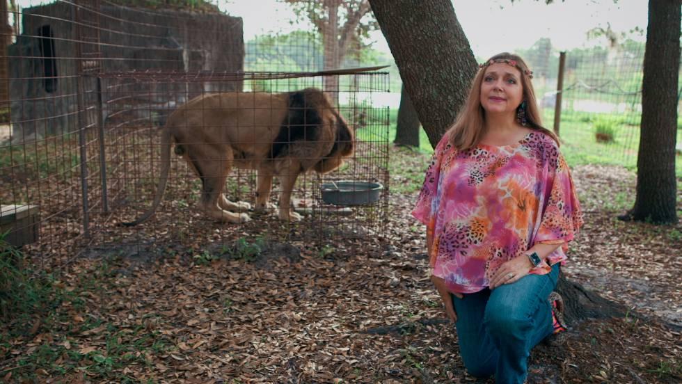 Carole Baskin, presidenta de Big Cat Rescue, fue el objetivo de Joe Exotic. El paradero de su marido millonario sigue siendo un misterio.