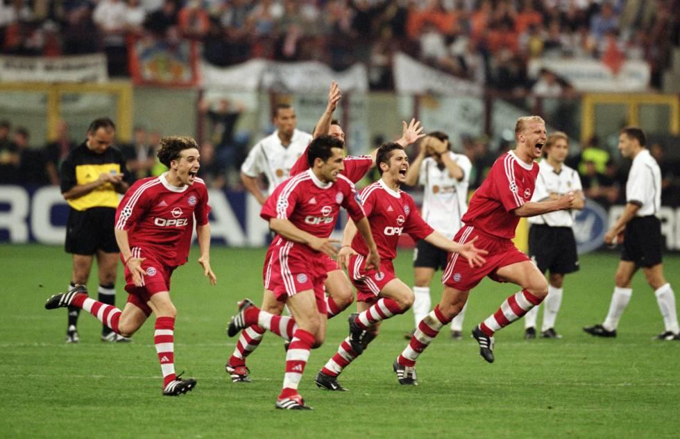 Si Woody Allen ve esta imagen de los jugadores del Bayern de Múnich le da un síncope.