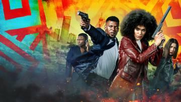 Imagen promocional de la serie sudafricana Queen Sono.