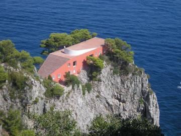 Casa Malaparte de Curzio Malaparte y Adalberto Libera en Capri (1937).