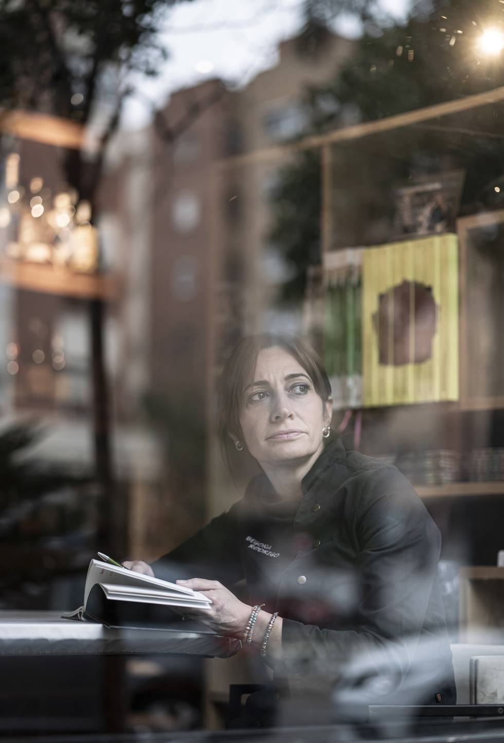 """Begoña Rodrigo ha sido nombrada cocinera del futuro por la Real Academia Internacional de Gastronomía. """"Ahora tengo un montón de clientes que buscan mi menú vegetariano. Antes era inviable hacerlo porque lo primero era pagar las facturas""""."""