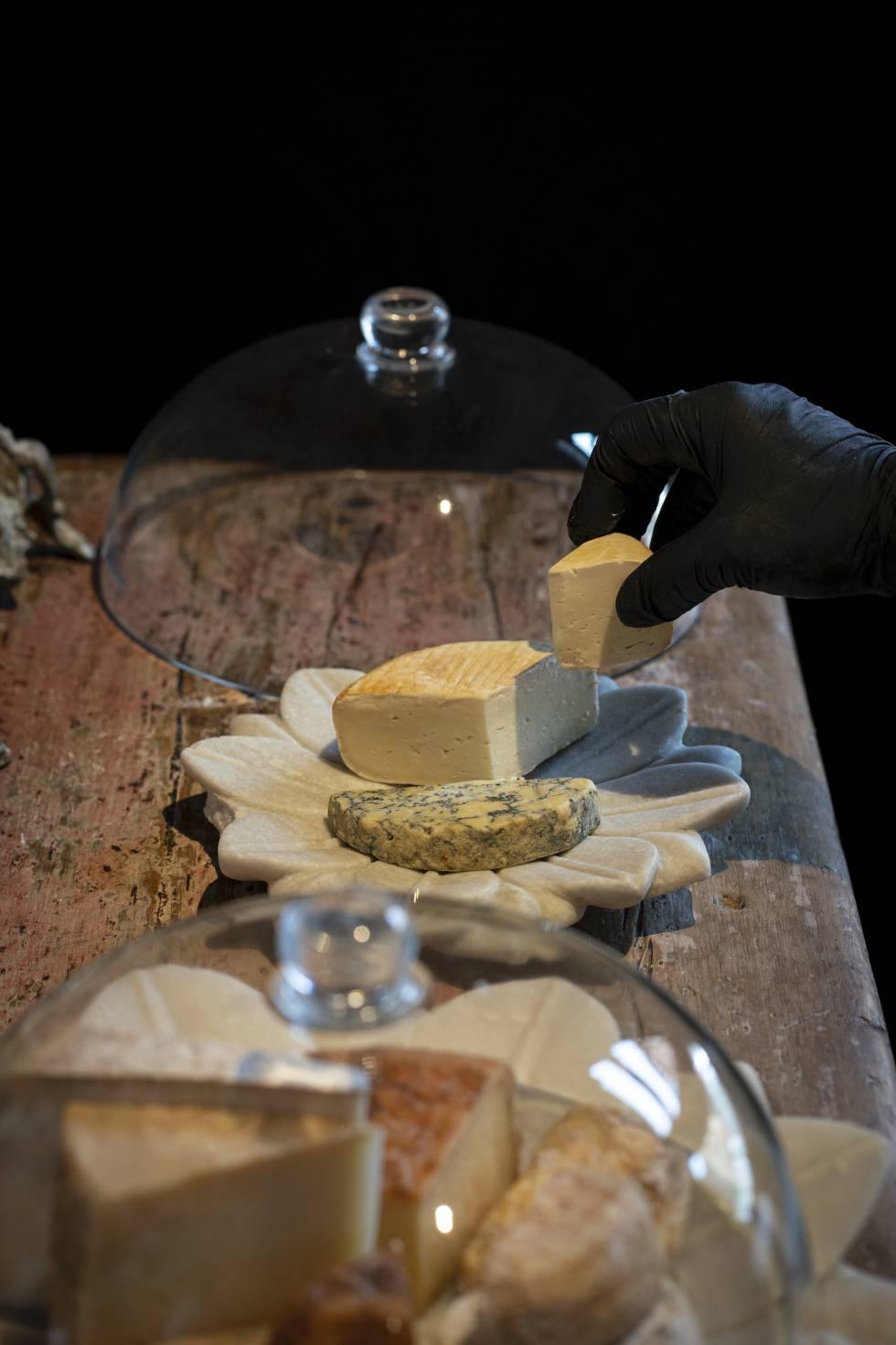 Selección de quesos del restaurante La Salita de Begoña Rodrigo.