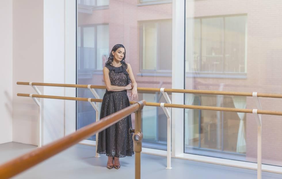Tamara Rojo, en la sede del English National Ballet, en Londres.