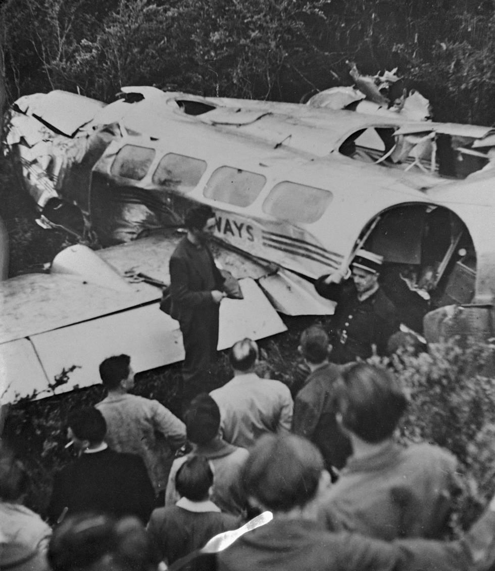 Kathleen Kennedy murió en 1948 en un accidente de avioneta.