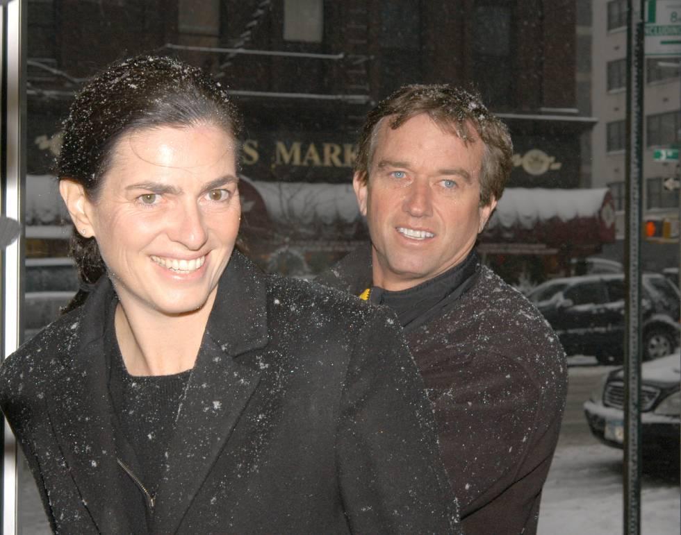 Mary Richardson Kennedy con su marido Robert Kennedy Jr. en 2003. La arquitecta se suició en 2012, dos años después de divorciarse de Robert.