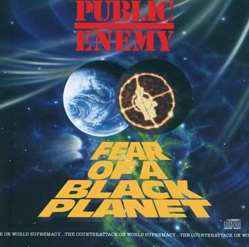 La portada, en la que puede verse un planeta negro eclipsando La Tierra y el nombre del disco al estilo de la apertura de Star Wars, fue obra de Cey Adams.