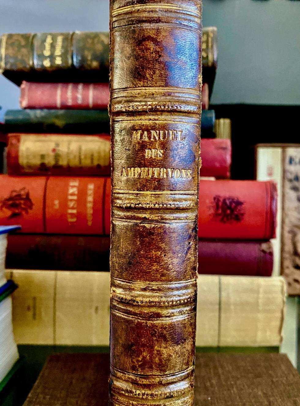 'Manuel des Amphytrions'. (1808)