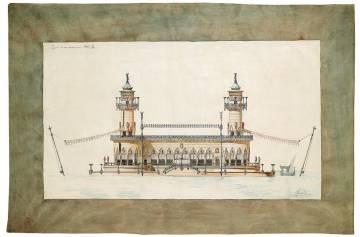Imagen del proyecto de embarcadero del joven Guadí.