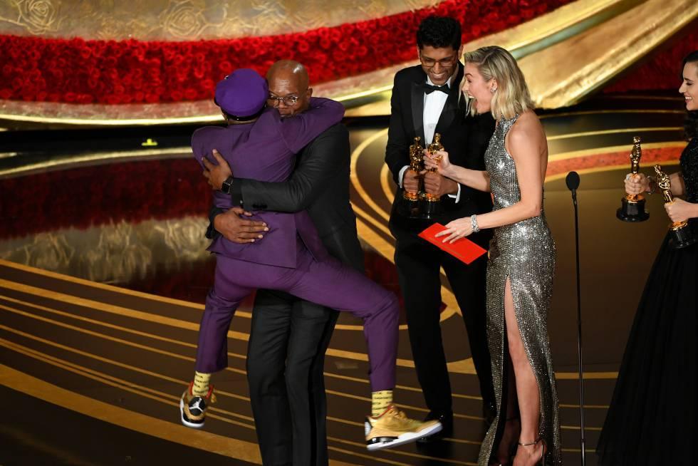 Si quieres saltar como Spike Lee salta sobre Samuel L. Jackson solo necesitas ganar un Oscar y calzar unas Air Jordan.