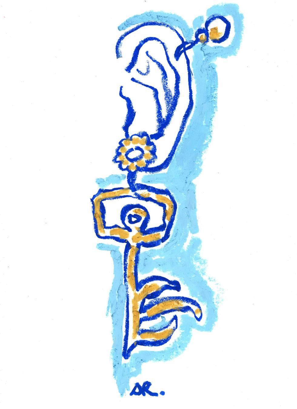 Ilustración de joyería de Daniel Roseberry.
