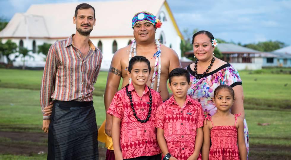 Álvaro Hoyos, uno de los cuatro españoles que vive en Samoa, en una foto facilitada por él mismo.