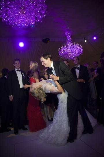Ivanka Trumo y Jared Kushner el día de su boda. El enlace se celebró en octubre de 2009.