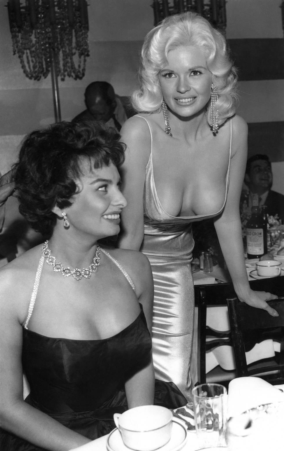Hollywood, 1957: Sofia Loren ve como Jayne Mansfield