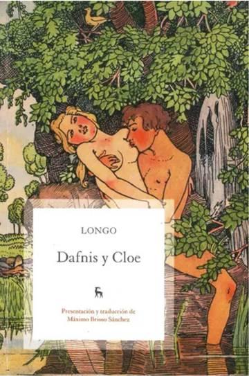 Portada de una edición de 'Dafnis y Cloe' de la editorial Gredos.