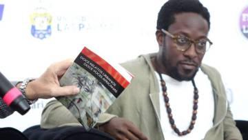 Nii Ayikwei Parkes, uno de los protagonistas de Afrolit.