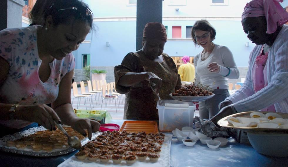 Degustación gastronómica en Casa África.