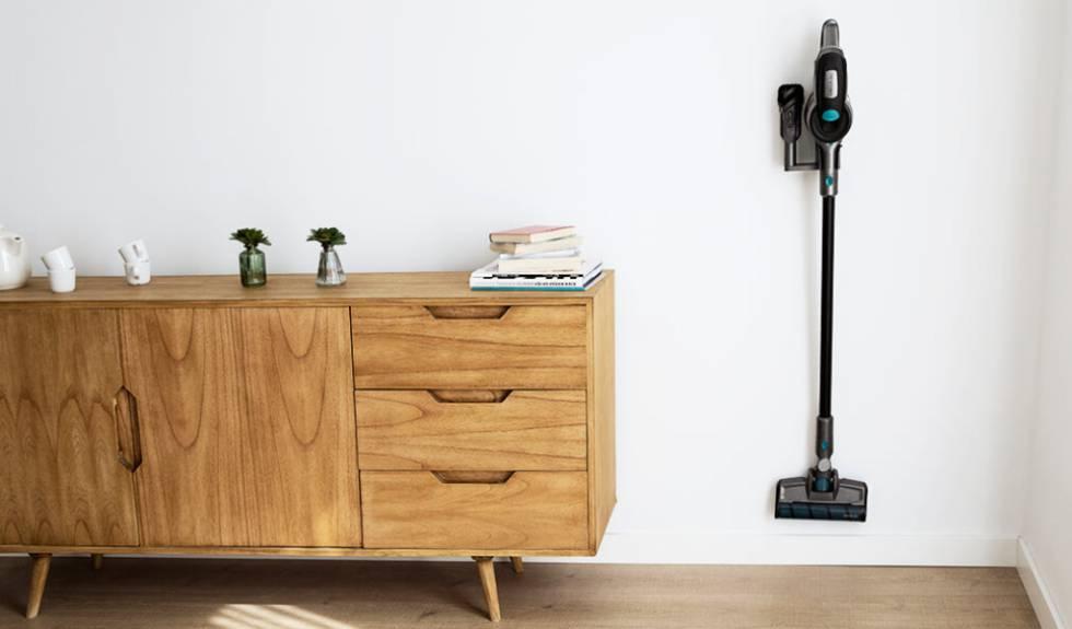Aspirador escoba, vertical y de mano: este modelo Conga es tres en uno y tiene un 62% de descuento