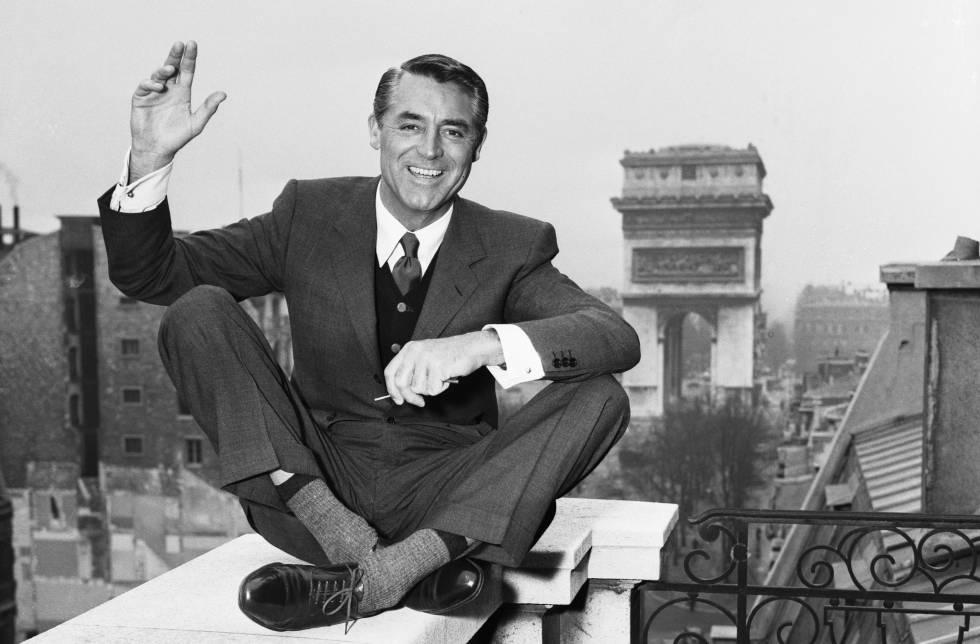 Cary Grant en París en 1930.