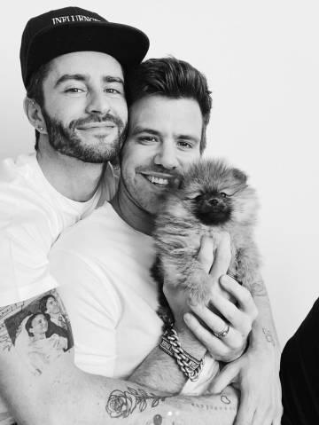 La polémica imagen en la que el influencer Pelayo Díaz posó con un perro enviado por una empresa llamada Luxury Toy Puppies (