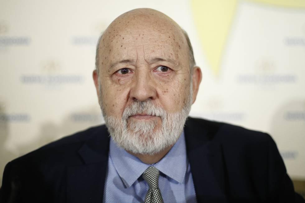 José Félix Tezanos durante una conferencia en junio de 2019.