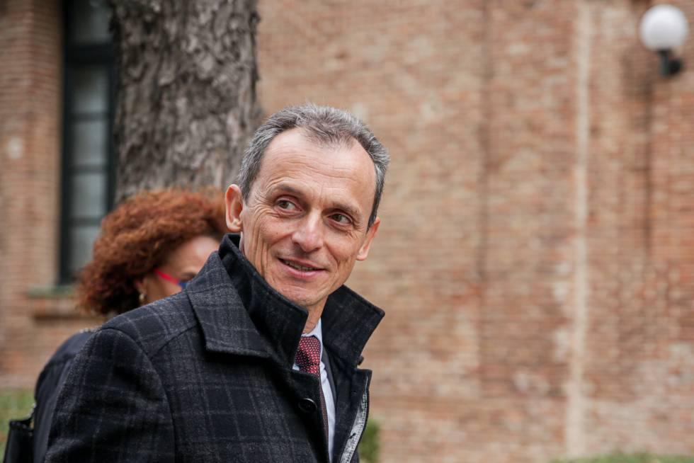 Pedro Duque el 17 de febrero 2020 en Madrid.